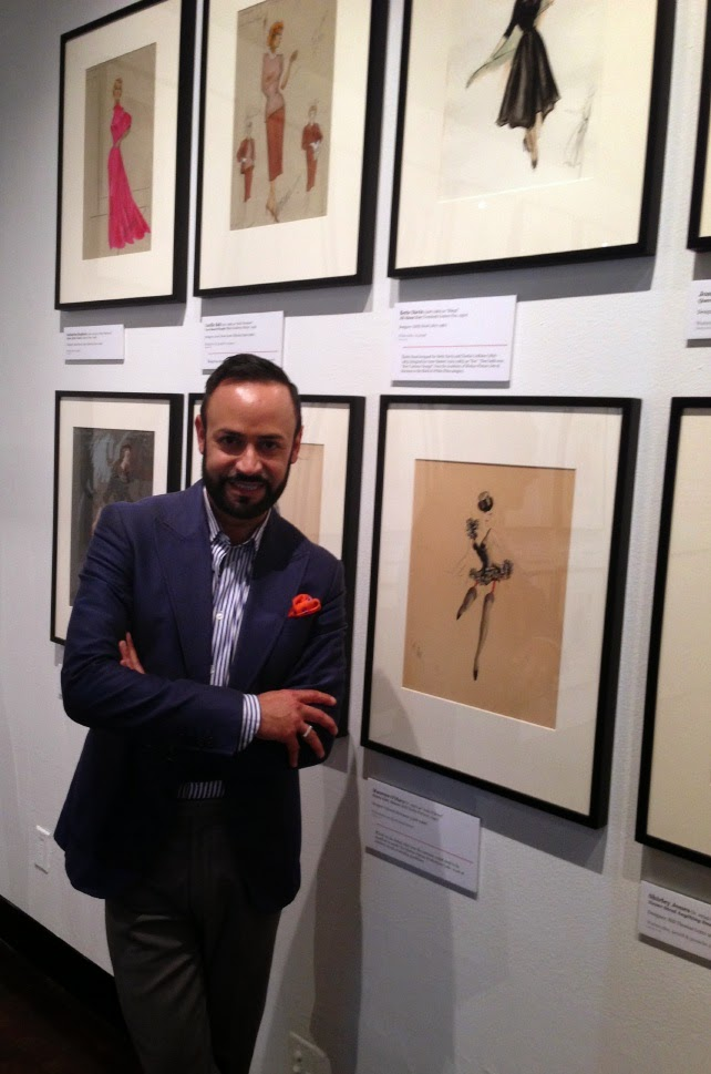 Nick Verreos Fidm Designing Hollywood Sketches From The Christian Esquevin Collection Exhibition