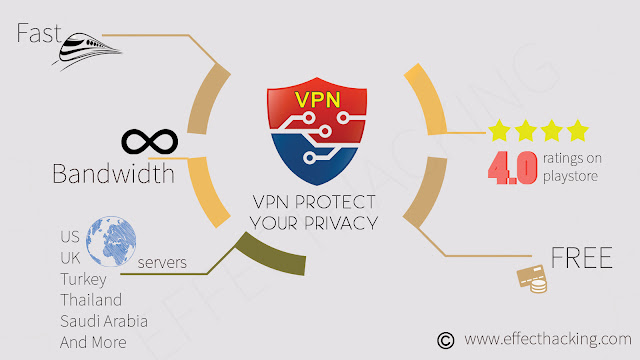 VPN Protect your Privacy Infographic