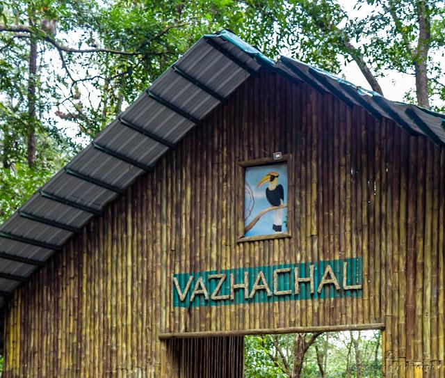 Vazhachal waterfalls entry