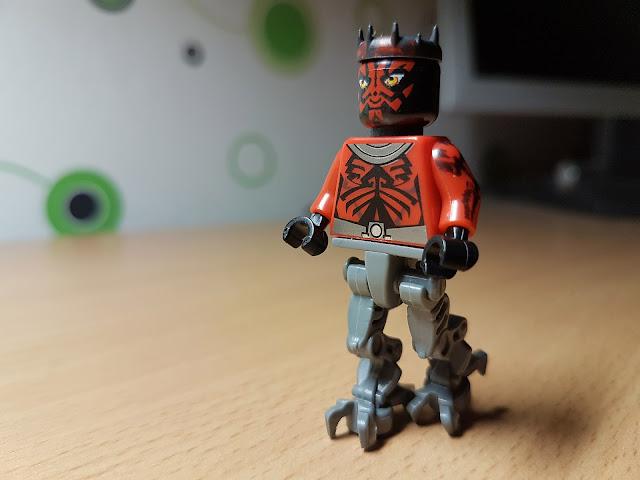 Дарт Мол с механическими ногами фигурка лего, стар варс, star wars