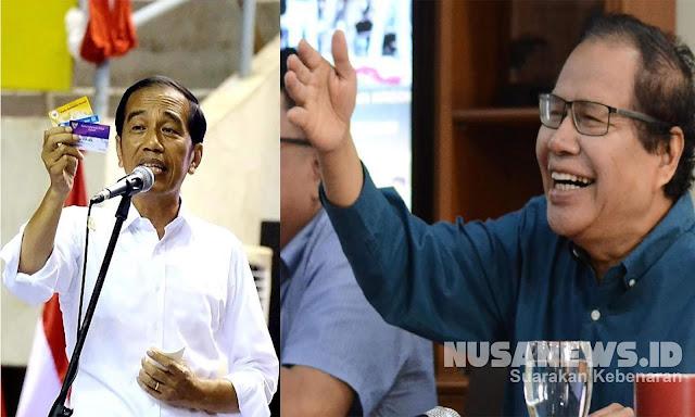 Ingin Bertemu Jokowi, Rizal Ramli Mau Minta Kartu Sabar, Kaya & Bahagia