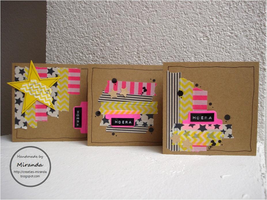 uitverkoop frisse stijlen mode Miranda's Creaties: Mini serie: Hema tape