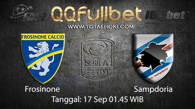 Prediksi Bola Jitu Frosinone vs Sampdoria 17 September 2018 ( Italian Serie A )