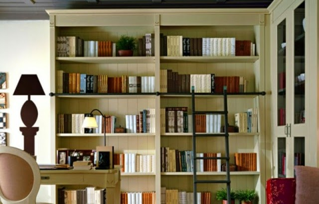 Living Room Shelving Units Classic Bookshelves Design By Minacciolo