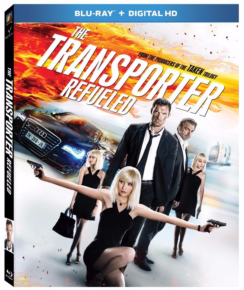 Double O Section: Upcoming Spy DVDs: The Transporter Refueled