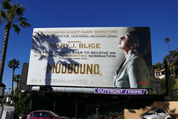 Mary J Blige Mudbound Oscar nominee billboard