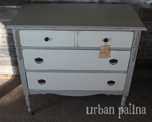 The Two Tone Color Vintage Hardware And Delicate Wood Detail Make This A Fun Unique Usable Piece