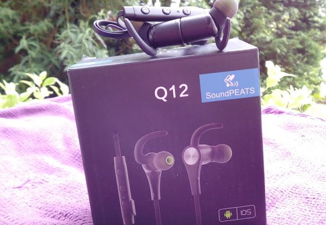 Soundpeats Q12 Bluetooth 4.1 Running Earphones Amongst Magnetic Ends!