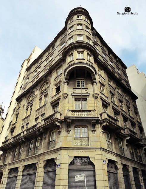 Vista ampla do Palacete Casa Lombarda - Cejur - Centro - São Paulo