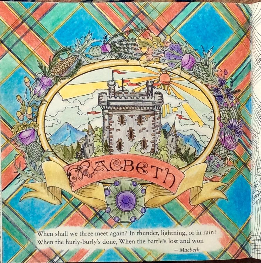 Colour+: Escape to Shakespeare\'s World, a Colouring-book Adventure