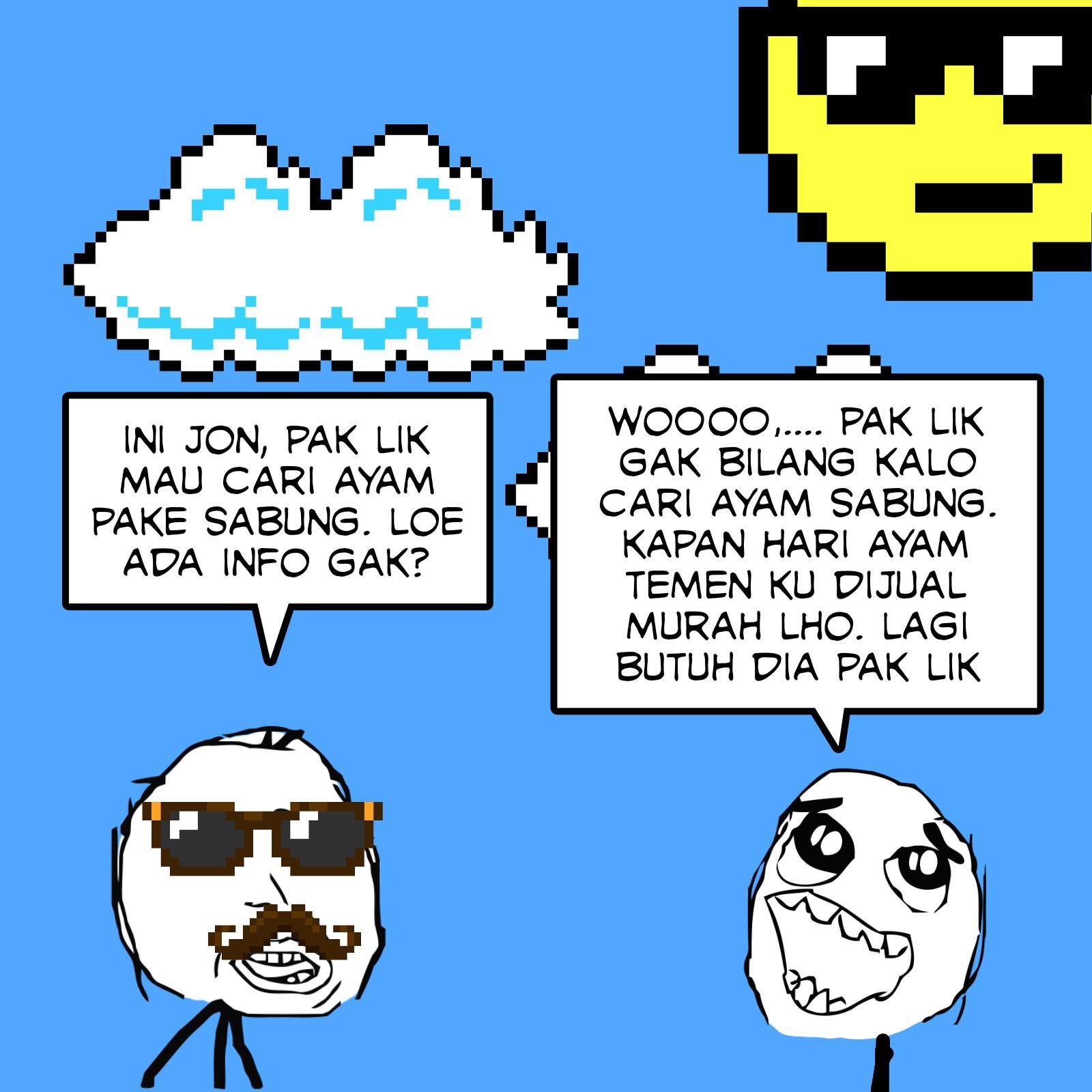 Baca comic strip kok kezel ya, rage comic, meme comic, web toon, web comic bahasa Indonesia