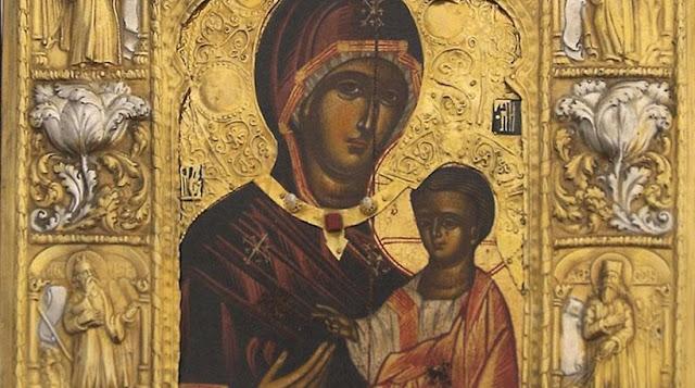 Η θαυματουργή εικόνα της Παναγίας Σουμελά στην Ξάνθη