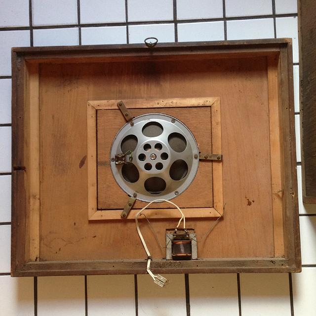 A hangfal belseje - Telefunken Ela L 605/2