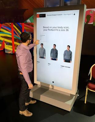 Body scanning de Adobe y Microsoft Kinect
