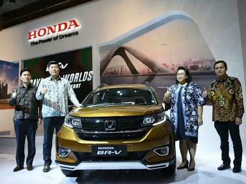 Spesifikasi New Honda BR-V