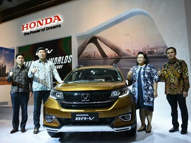 New Honda BR-V Tampil Semakin Premium dan Nyaman