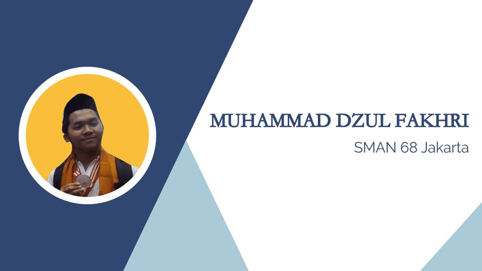 Muhammad Dzul Fakhri