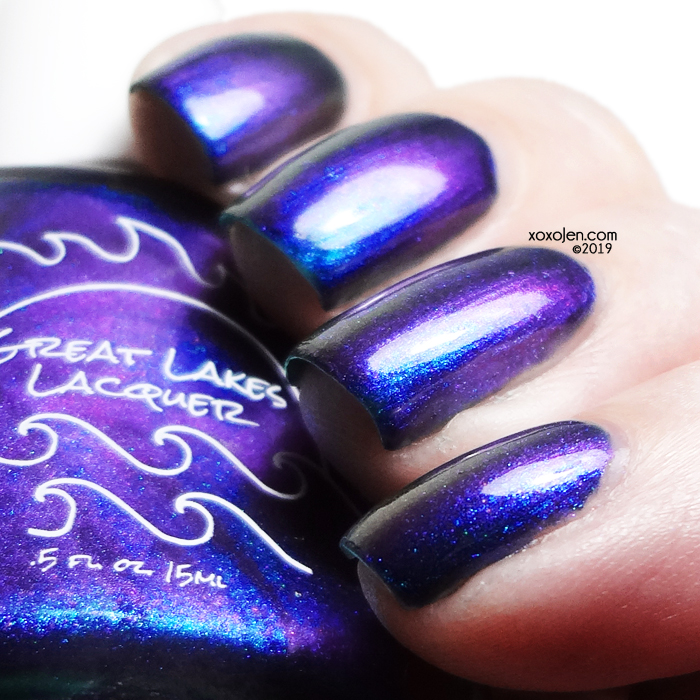 xoxoJen's swatch of Great Lakes Lacquer Lake Superior v2