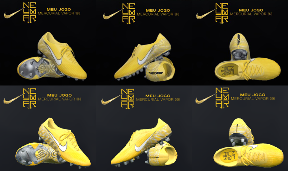 518287522a9 PES 2018   PES 2017 Nike Mercurial Vapor 360 Elite Neymar Jr by Tisera09