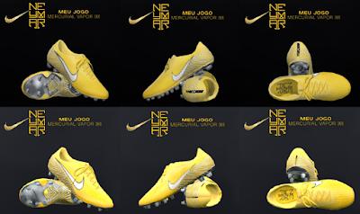 PES 2018 / PES 2017 Nike Mercurial Vapor 360 Elite Neymar Jr by Tisera09