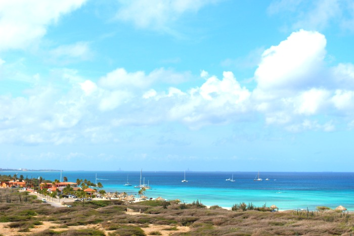 plan a family vacation to aruba