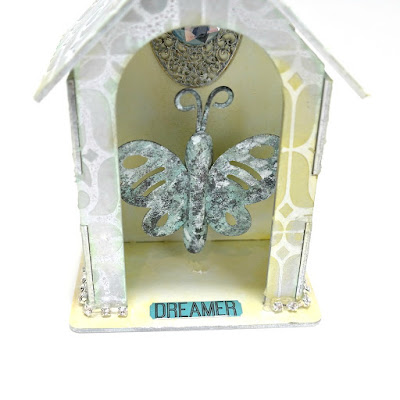 Dreamer Butterfly Shrine Closeup by Dana Tatar for Tando Creative