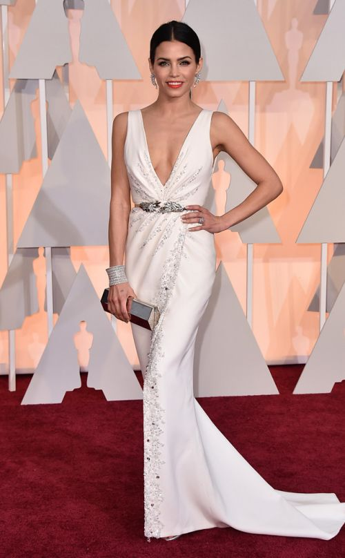 Jenna Dewan-Tatum in Zuhair Murad at the Academy Awards 2015