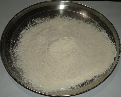 sieved flour mixture