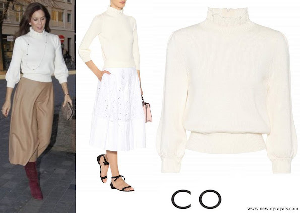 Crown Princess Mary wore CO Essential wool sweater
