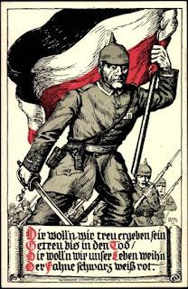 немецкий плакат времен Первой мировой