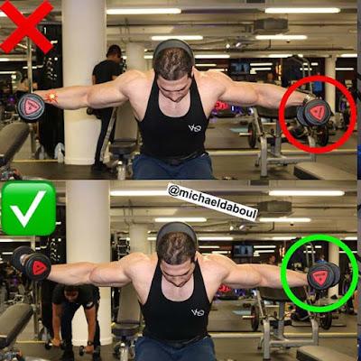 cara membentuk otot bahu yang benar