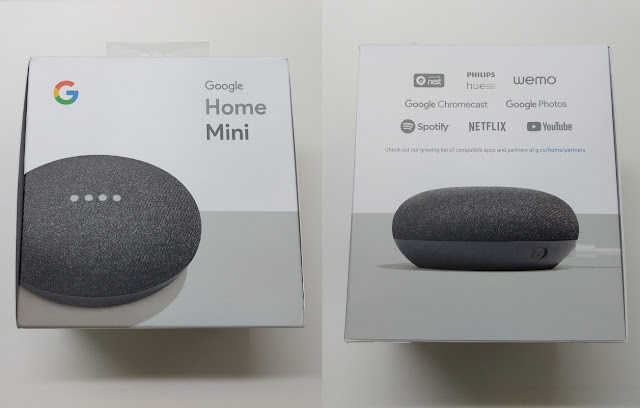 Unboxing Of Google Home Mini Smart Speaker Unboxing Treatment