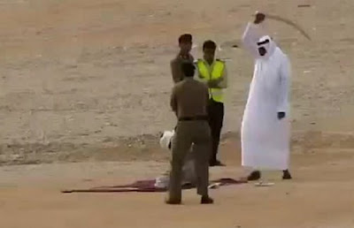 Public execution in Saudi Arabia