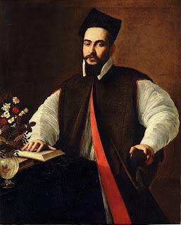 Caravaggio's portrait of the future Urban VIII