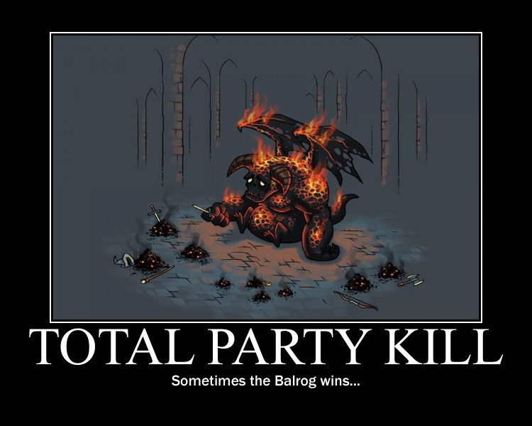 The Looney Dm Total Party Kill