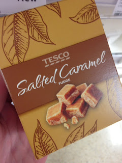 tesco salted caramel fudge