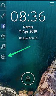 Cara membuka aplikasi android langsung dari lockscreen