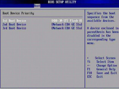 how to change boot priority in windows 7