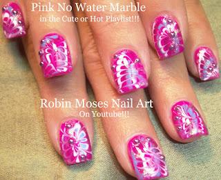 Robin Moses Nail Art Neon Rainbow Nails Done With No