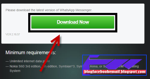 Download and Install Whatsapp for all Java and Nokia Mobile