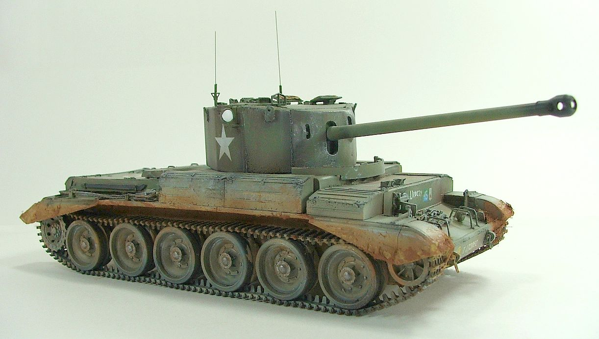 Challenger Tank Interior >> Panzerserra Bunker- Military Scale Models in 1/35 scale: A30 Challenger Cruiser Mk VIII - A case ...