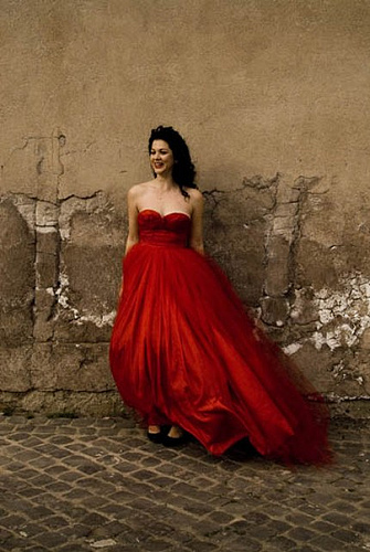 Red Wedding Gown: Short Red Wedding Dress
