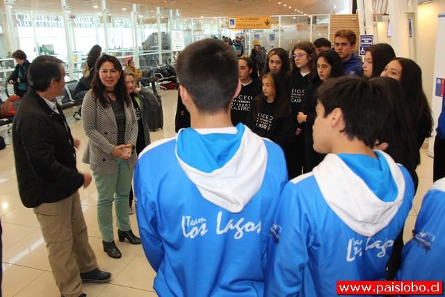Deportistas de la región rumbo a los Juegos Sudamericanos Escolares de Asunción Paraguay 2019
