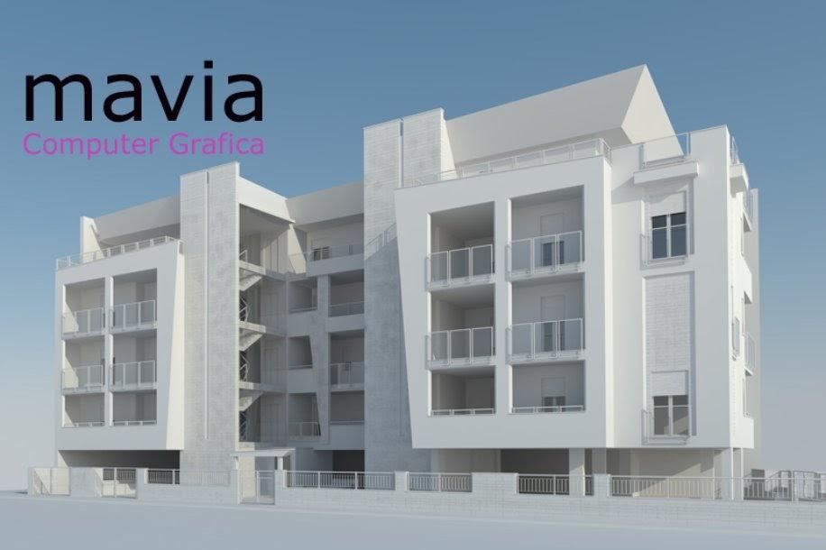 Esterni 3d rendering 3d architettura 3d 3d exterior for Architettura 3d