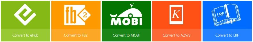 convert ebook online