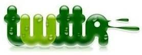 Logotipo do inicio do Twitter