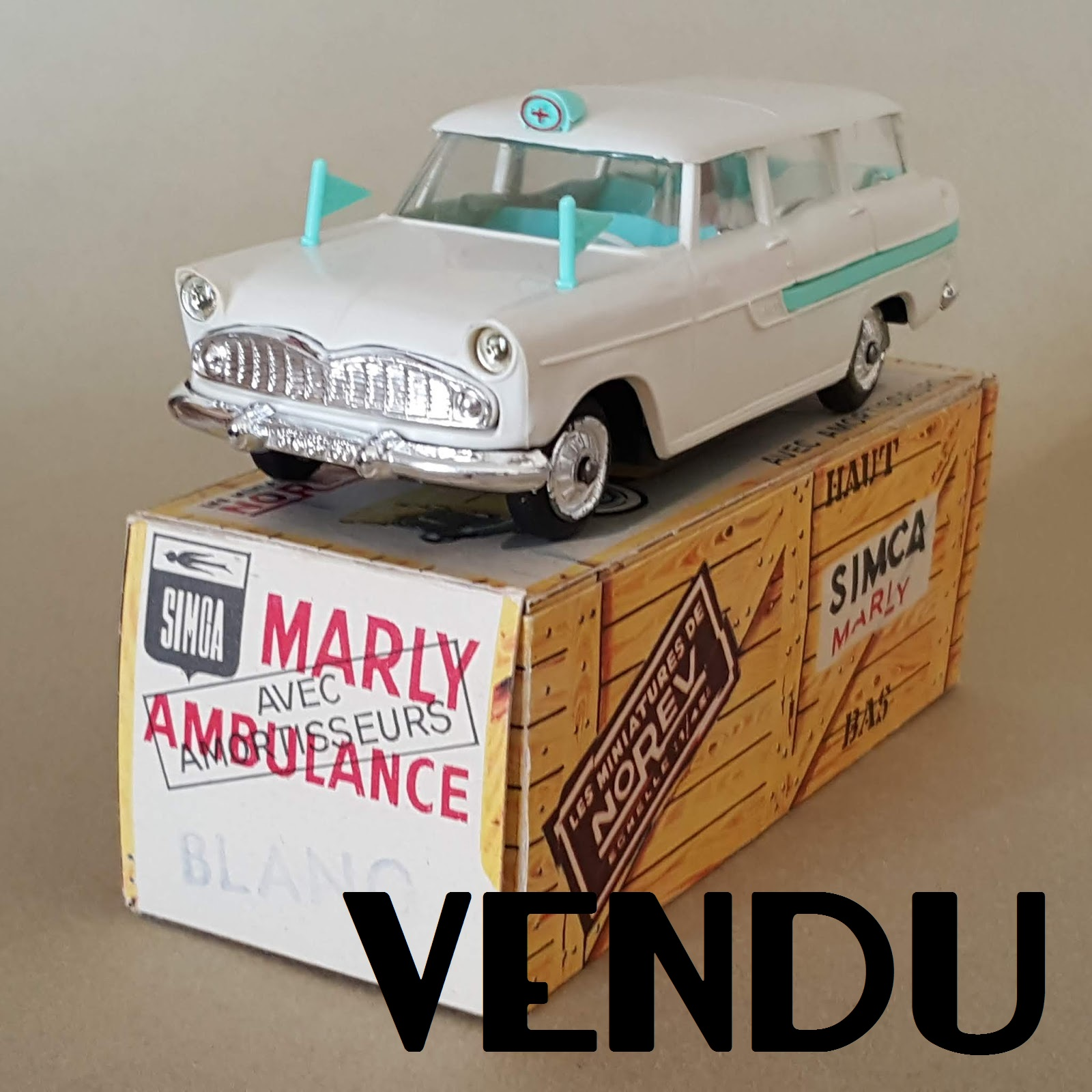 Miniatures Marly Simca Superbe Années Véhicules Break Quiralu 50 AqcRL354jS
