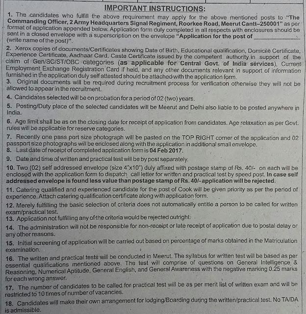 Cantonment Board Meerut Cantt Recruitment