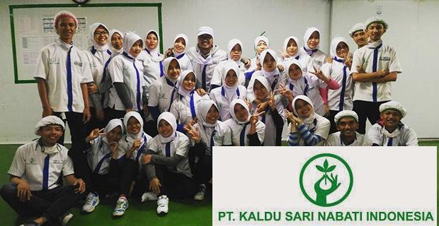 Lowongan Kerja PT. Kaldu Sari Nabati Indonesia, Jobs: Production Foreman, QC Foreman, Maintenance Foreman.