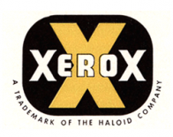 Xerox logo in 90s